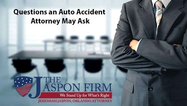 Hiring Auto Accident Attorney - The Jaspon Firm