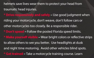 Bike Week Safety Tips for Motorcyclists
