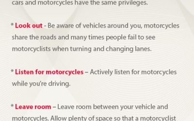 Bike Week Safety Tips for Motorists