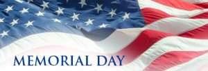 Memorial Day Weekend 2015