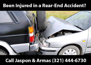 Rear-end car accidents
