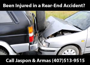 Orlando Rear end accident attorney