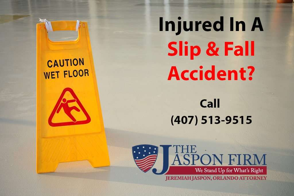 Orlando Slip and Fal lAccident Attorney