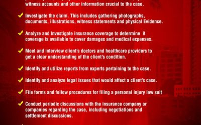 What are the Duties of a Personal Injury Attorney