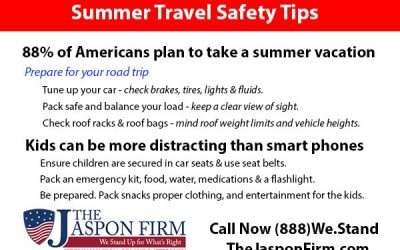 Safety Tips for Summer Travel
