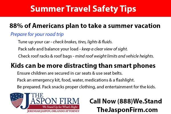Florida Summer Travel Safety Tips