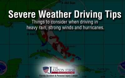 Severe Weather Driving – Heavy Rain, Strong Winds, Hurricanes