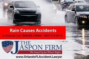 Rain Causes Accidents