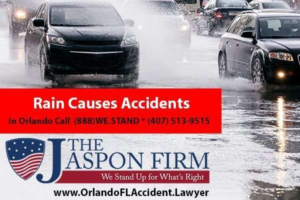 Rain Causes Accidents