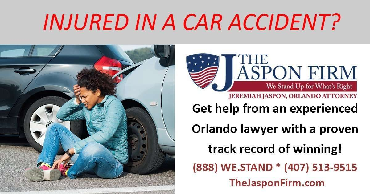 Injured in a car accident in Orlando?