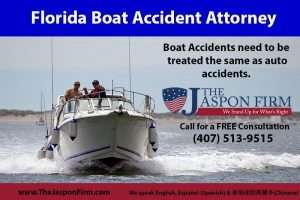 Florida Boat Accident Attorney - The Jaspon Firm