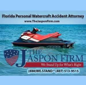 Orlando Personal Water Craft Accident Lawyer - The Jaspon Firm