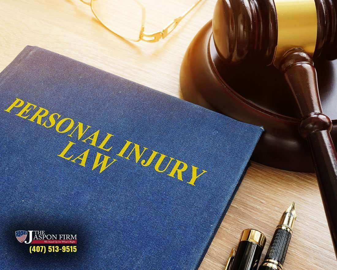 Personal Injury Law Book and Gavel
