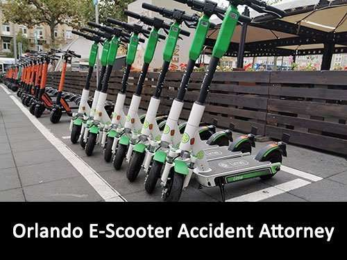 Orlando E-scooter accident attorney