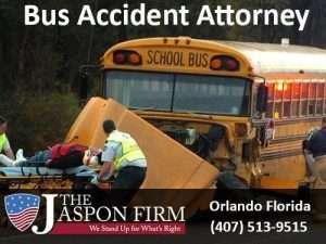 Orlando Bus Accident Attorney - The Jaspon Firm