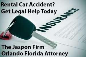 Car Rental Accident Attorney The Jaspon Firm
