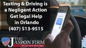 Distracted Driving Accident Attorney - The Jaspon Firm