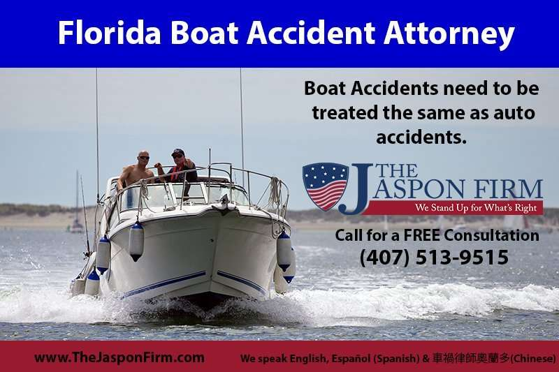 Orlando boat accident lawyer