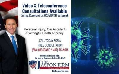 Car Accident Video & Teleconference Consultations During Coronavirus (COVID-19) Outbreak
