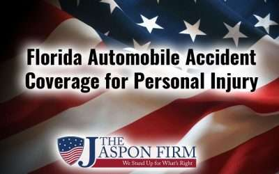 Florida Automobile Accident Coverage for Personal Injury