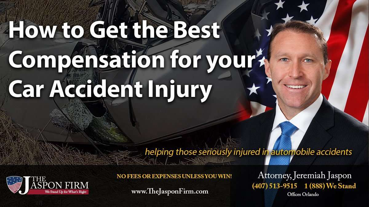 How to get the best compensation for your car accident injury.