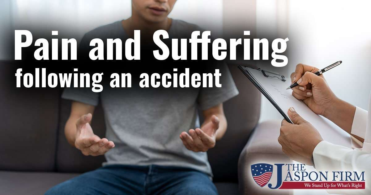 Pain and Suffering - Orlando Car Accident Injury Lawyer